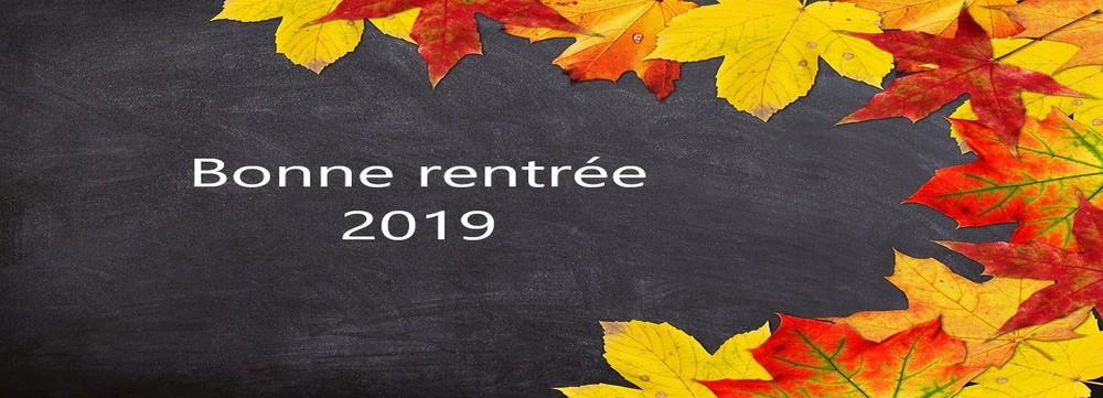 Cliquez ici pour voir les horaires de la rentrée 2019-2020